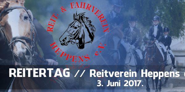 Reitertag im RuF Heppens am 03.06.2017
