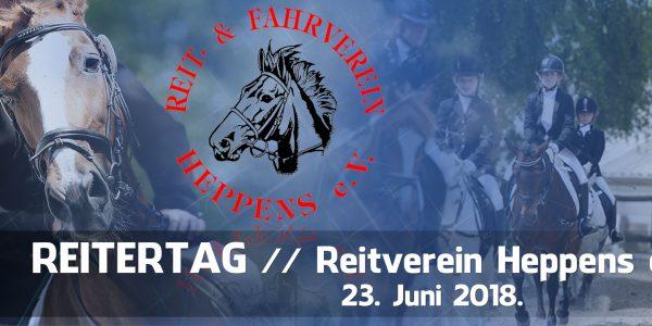 Reitertag 2018 // Starterliste und Zeiteinteilung